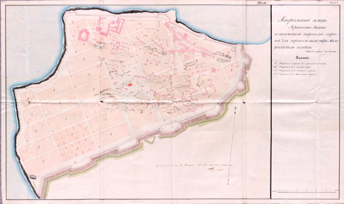 Генеральный План Анапы 1834 года