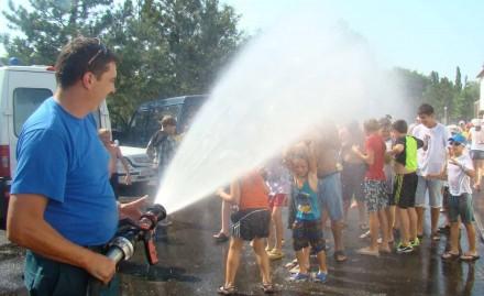В санатории «Бимлюк» прошли противопожарные учения.
