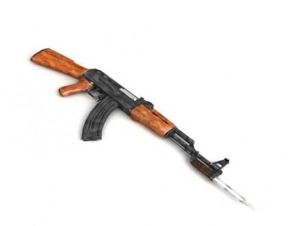 В Анапе обнаружен автомат Калашникова и более 500 патронов