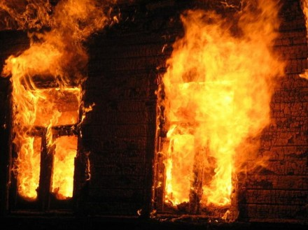 При пожаре погиб двухлетний ребенок
