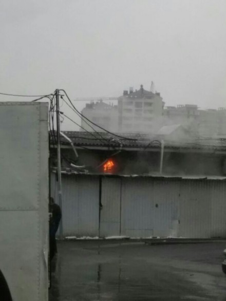 Пожар на подстанции