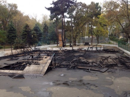 Площадку восстановят в кратчайшие сроки