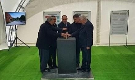 Кондратьев и Ткачев заложили в Анапе первый камень центра туризма и виноделия