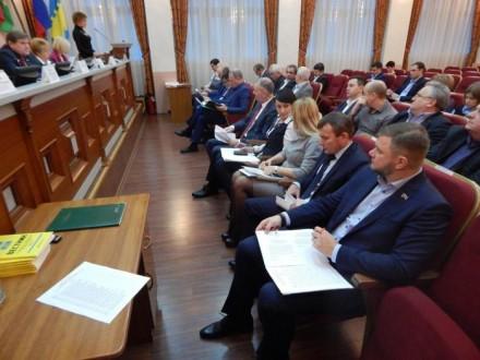 Депутаты приняли ряд решений