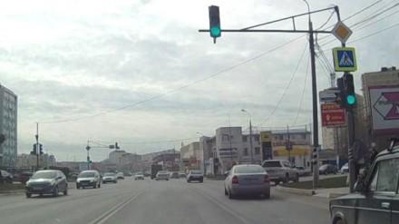 В Анапе установили новый светофор