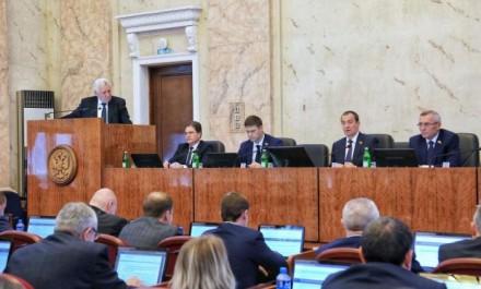 Юрий Поляков выступил с докладом на сессии ЗСК