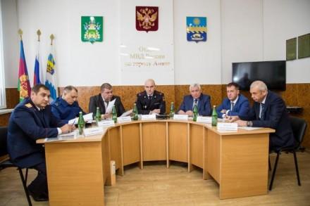 Отдел МВД Анапы - третий в крае