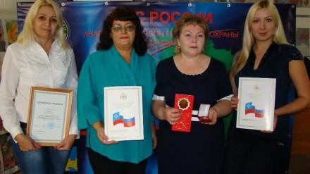 В Анапе прошло награждение сотрудников 11 ОФПС