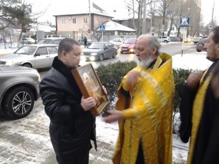 В Анапу прибыла святыня