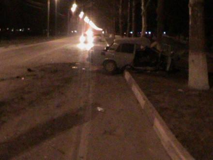 В Анапе разбился 20-летний водитель