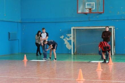 Соревнования у школьников