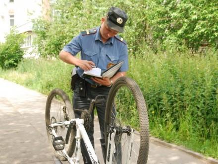 Три велосипеда украли за один вечер