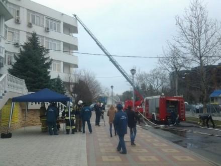 """Возгорание"" пансионата Высокий берег"