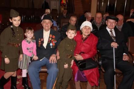 Ветеранам станицы Анапской вручили медали.