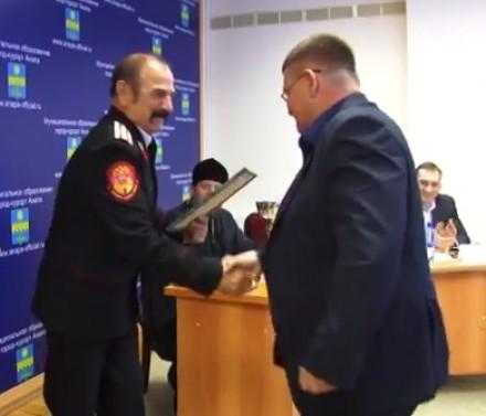 Обсудили работу казачьего общества.