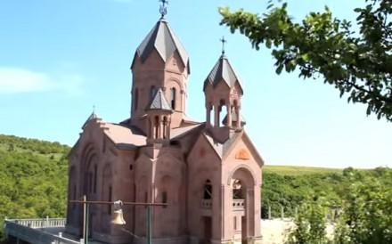 Храм в Гай-Кодзоре закончат к концу года.