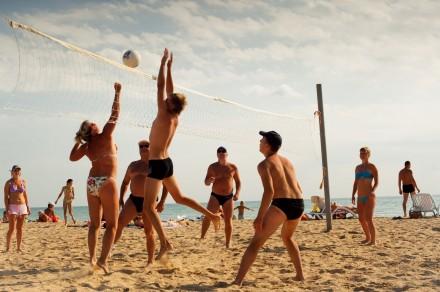 Сезон пляжного волейбола на подходе.