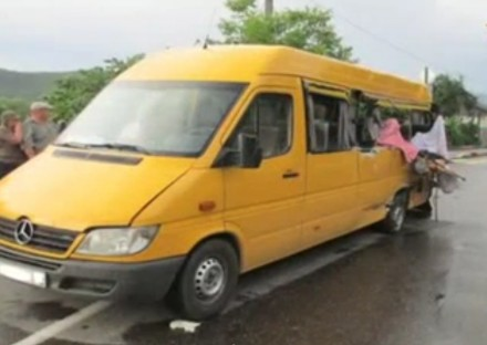 Авария по дороге на экскурсию.