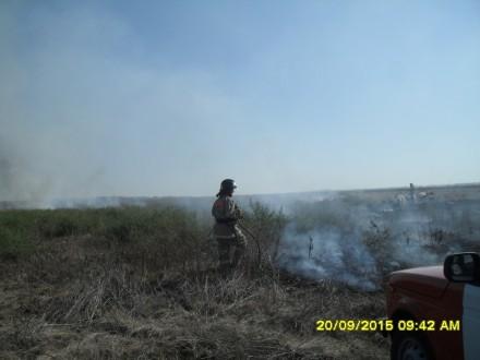 В Анапе сохраняется пожароопасная ситуация