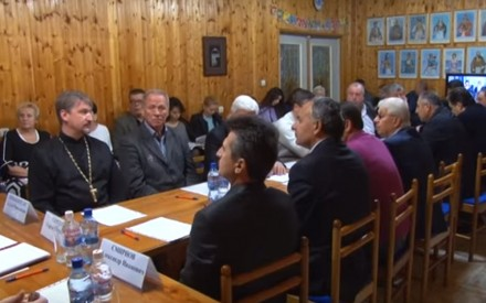 Встреча главы города с греческой общиной.