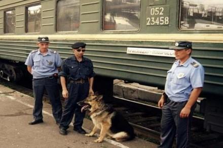 Линейная полиция отметила свой праздник.
