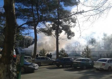 В скейт-парке опять пожар.