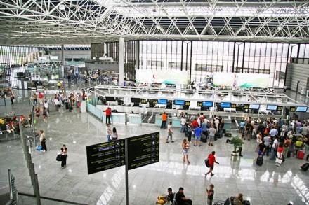 Аэропорт Анапы.