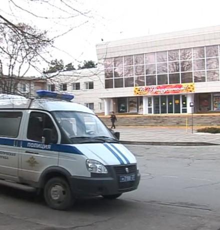 Подозрение на бомбу в центре Анапы.