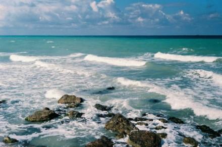 Землетрясение в море.