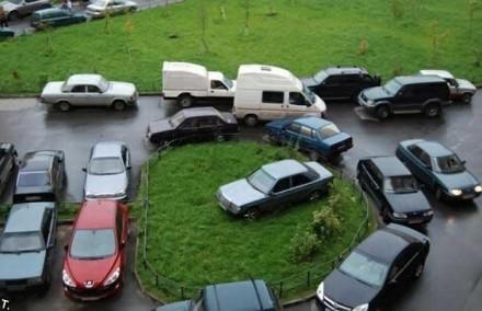Дома без парковки.
