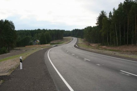 Новые дороги в селах.